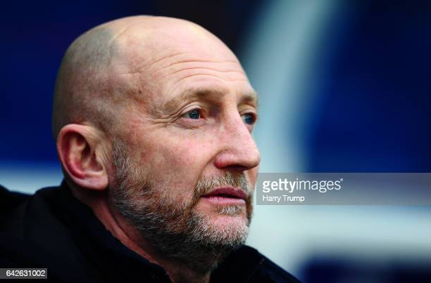 Manager Ian Holloway looks on during the Sky Bet Championship match between Birmingham City and Queens Park Rangers at St Andrews Stadium on February...