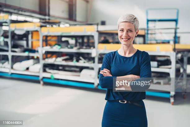 manager in the airplane factory - scrutiny stock pictures, royalty-free photos & images