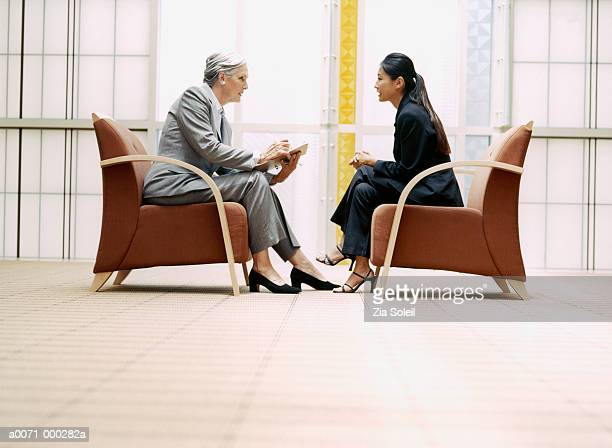 Manager Interviewing Woman
