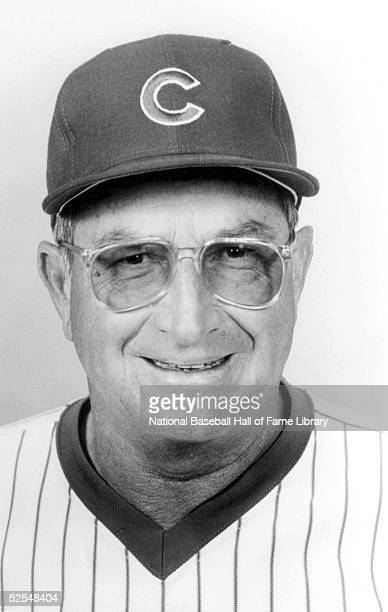 Manager Jim Frey of the Chicago Cubs poses for a portrait Frey managed the Cubs from 19841986