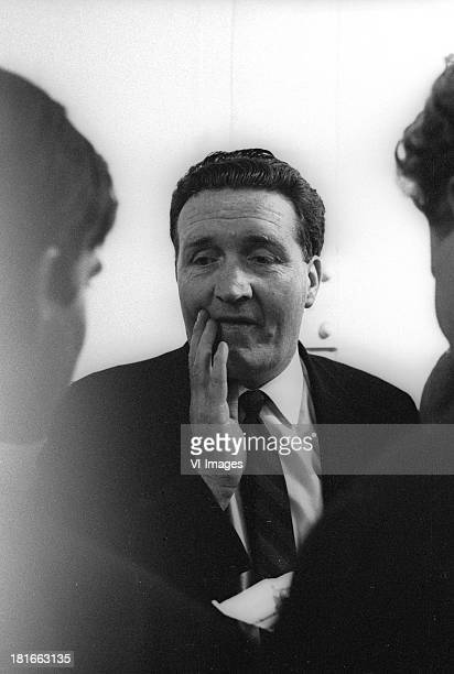 Manager Jock Stein during the Europa Cup II match between Go Ahead Eagles and Celtic on September 29 1965 at the Adelaarshorst stadium in Deventer...