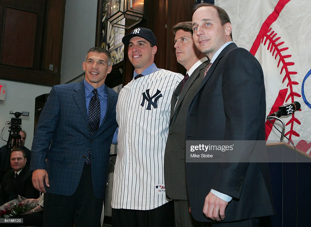 New York Yankees Introduce Mark Teixeira : News Photo