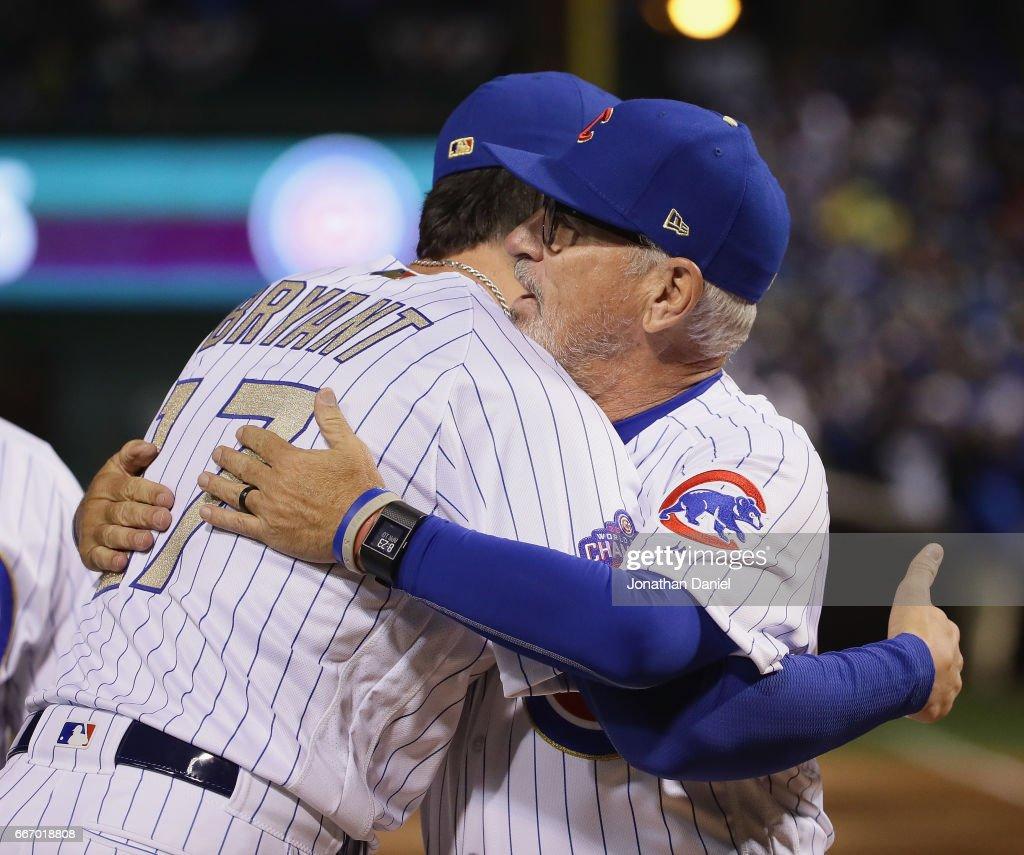 Los Angeles Dodgers v Chicago Cubs : News Photo