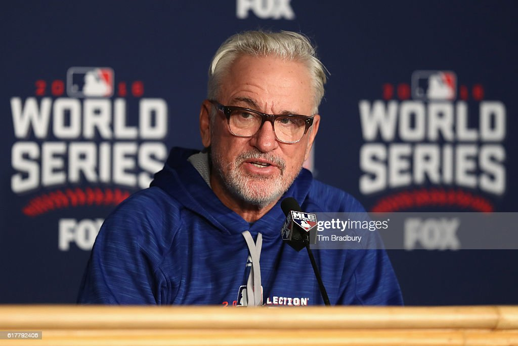 World Series - Chicago Cubs v Cleveland Indians - Media Day : News Photo