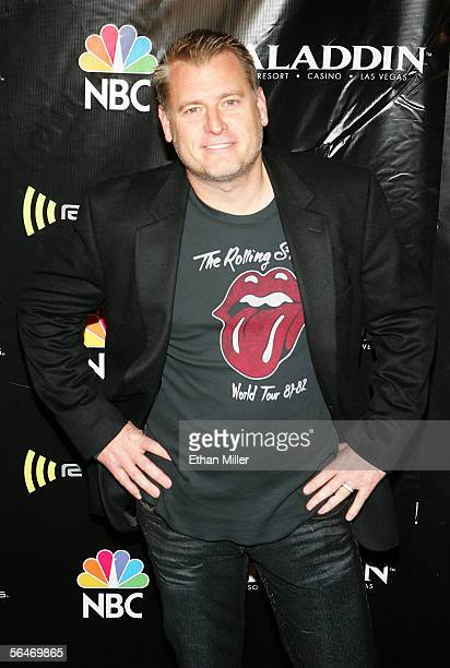 Manager Joe Simpson arrives at the 2005 Radio Music Awards at the Aladdin Theatre for the Performing Arts on December 19, 2005 in Las Vegas, Nevada.