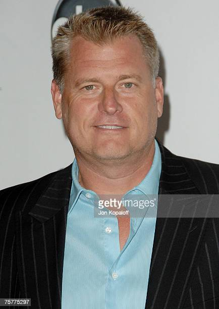 Manager Joe Simpson arrives at the 2007 ABC All Star Party at the Beverly Hilton Hotel on July 26, 2007 in Beverly Hills, California.