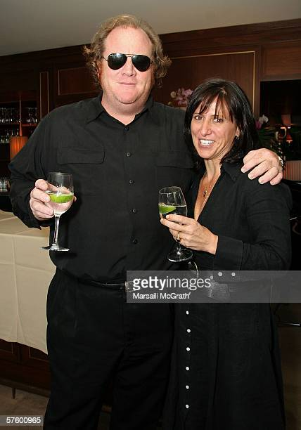 Manager John Carrabino and Alison Kennedy attend MaxMara and Women In Film's luncheon to honor Maria Bello at the Sunset Tower Hotel on May 12 2006...
