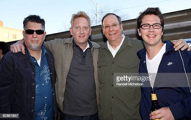 Manager John Leal SingerSongwriter Trent Summar BMI Executive Charlie Feldman and BMI Executive Joe Maggini at the BMI Howdy Texas Party at 2008 SXSW...