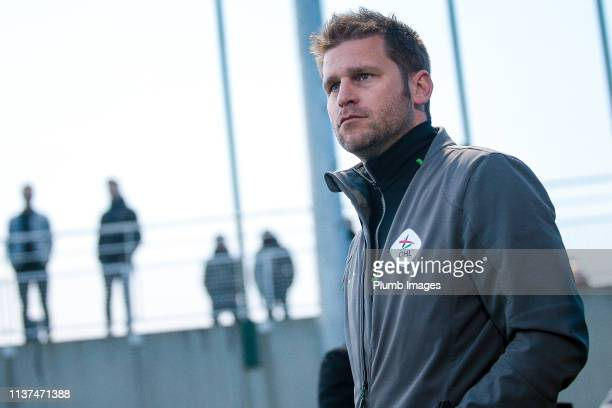 Manager Joost Hendrickx during the Reserve Pro League Cup match between OH Leuven Beloften and RSC Anderlecht Reserve at the Neerpede training ground...