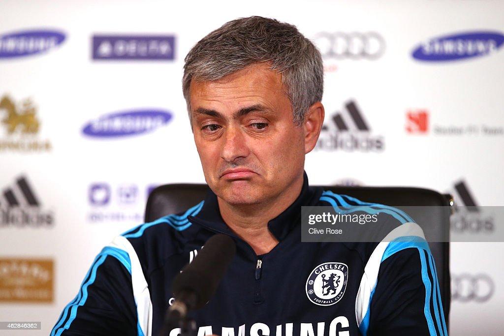 Chelsea Press Conference : Foto di attualità