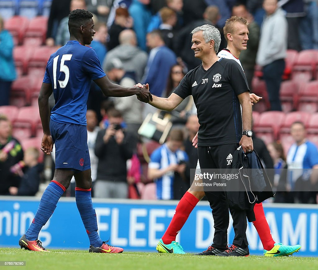 Wigan Athletic v Manchester United - Pre-Season Friendly : News Photo