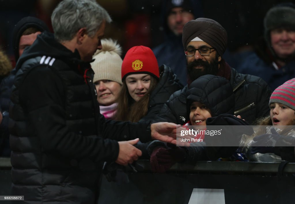 Manchester United v Brighton & Hove Albion - The Emirates FA Cup Quarter Final : ニュース写真
