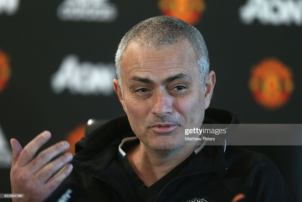 Manchester United Press Conferences : News Photo