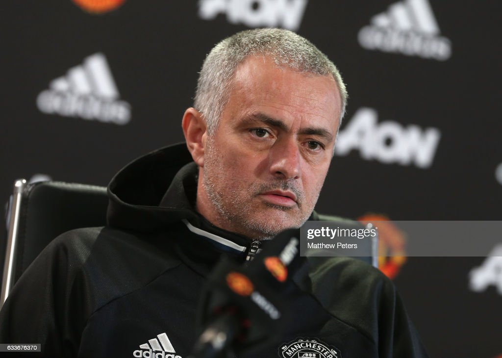 Manchester United Press Conference : News Photo