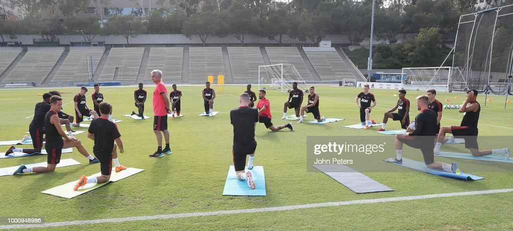 Manchester United Pre-Season Training Session : News Photo