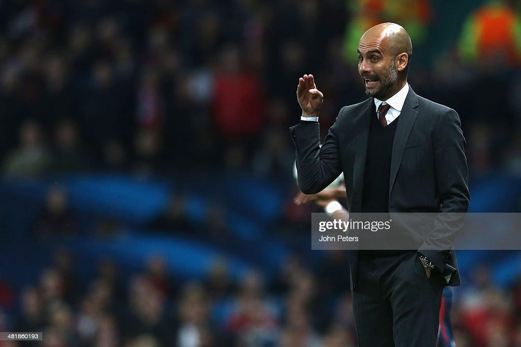 Manchester United v FC Bayern Muenchen - UEFA Champions League Quarter Final : Foto di attualità