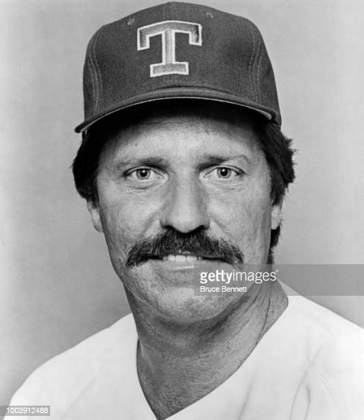 Manager Kevin Kennedy of the Texas Rangers poses for a portrait during MLB Spring Training circa March 1993 at Charlotte Sports Park in Port...
