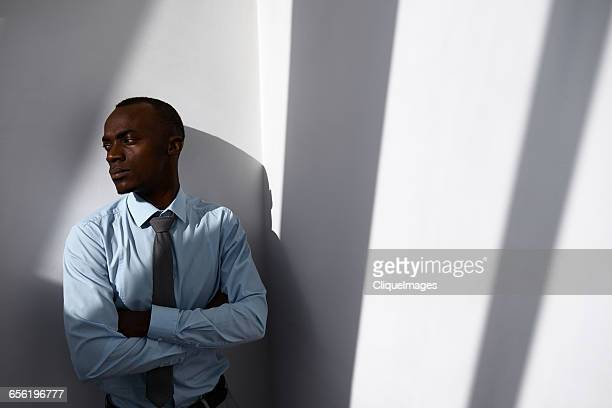 manager looking away - cliqueimages stock pictures, royalty-free photos & images