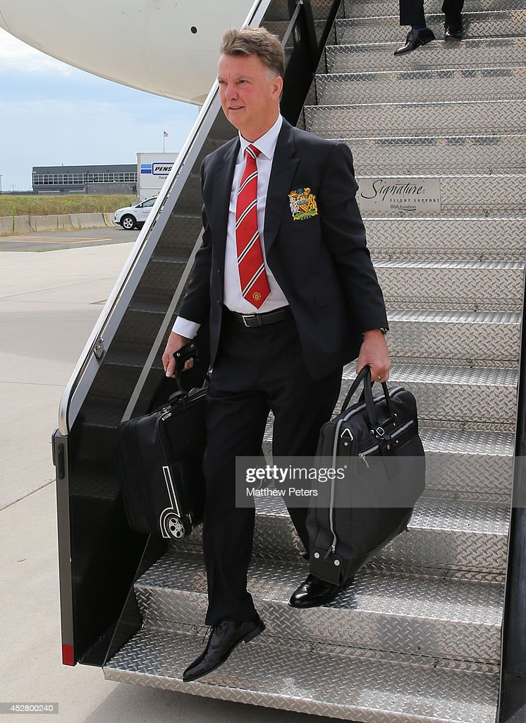 Manchester United FC Arrive In Washington - Pre-Season Tour of The USA : News Photo