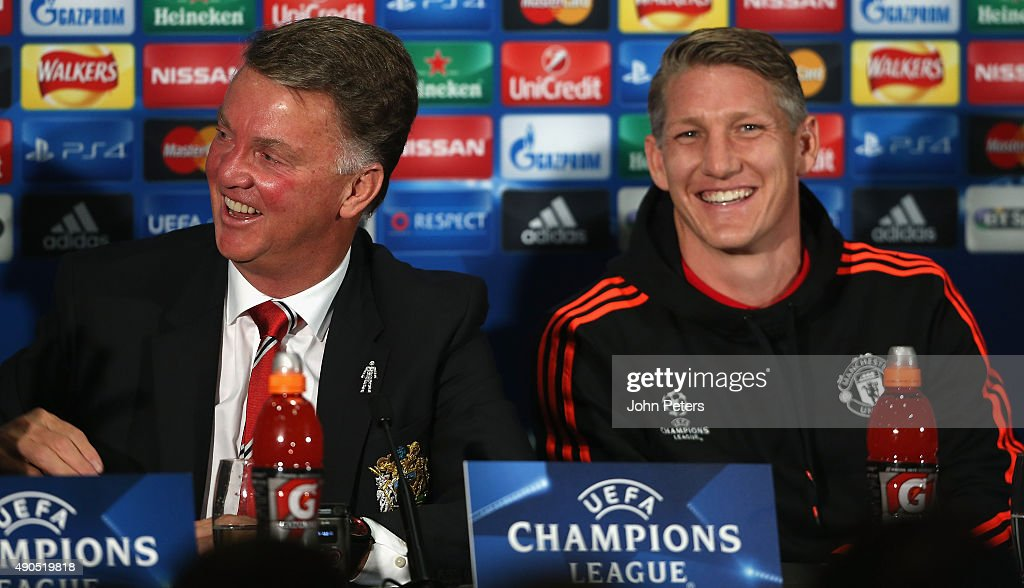 Manchester United FC Press Conference : News Photo