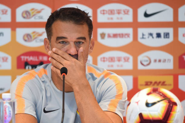 CHN: Beijing Renhe Press Conference And Training Session