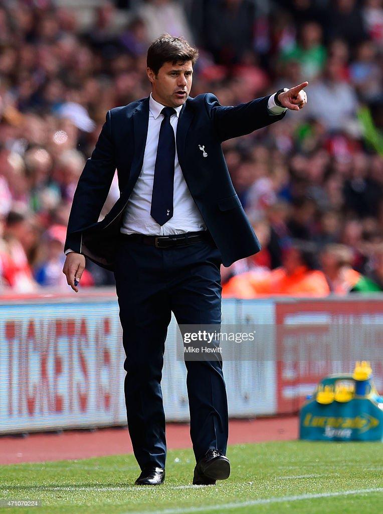 Southampton v Tottenham Hotspur - Premier League : News Photo