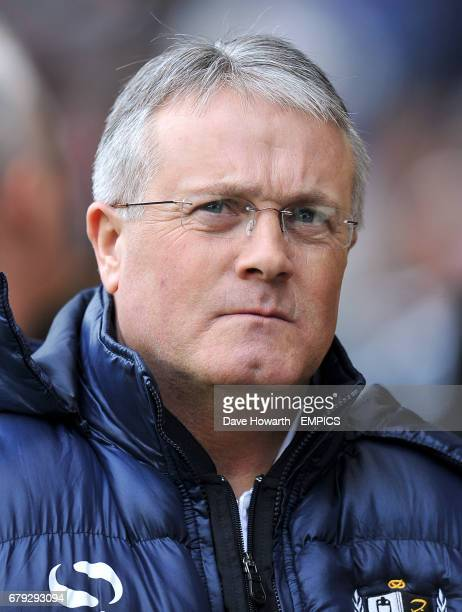Manager Micky Adams Port Vale