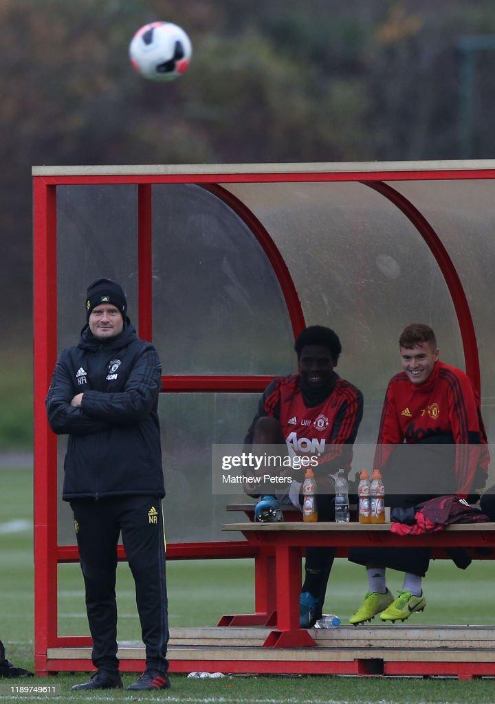 Manchester United v Brighton and Hove Albion: U18 Premier League : News Photo