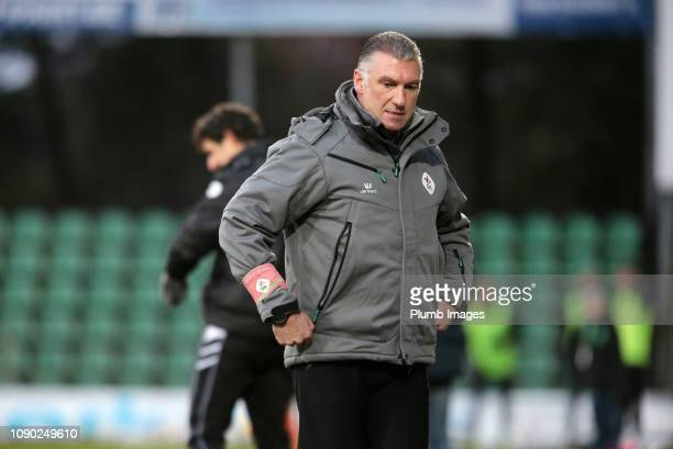 Manager Nigel Pearson of OH Leuven during the Proximus League match between Lommel SK and OH Leuven at Soevereinstadion on January 27th 2019 in...