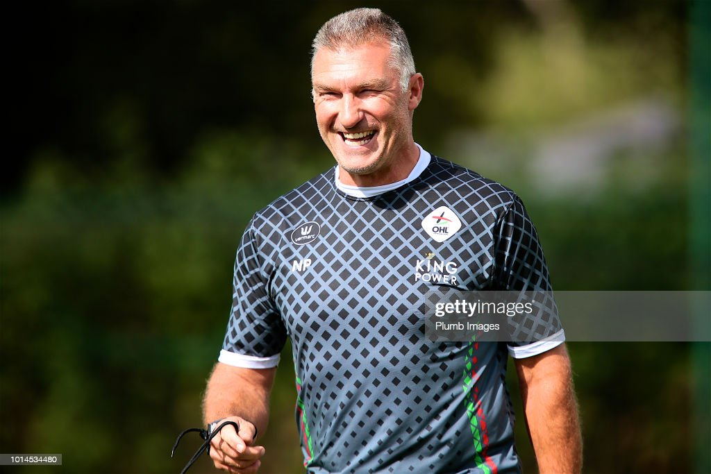 Manager Nigel Pearson of OHL during the OHL training session on August 10th, 2018 in Leuven, Belgium.