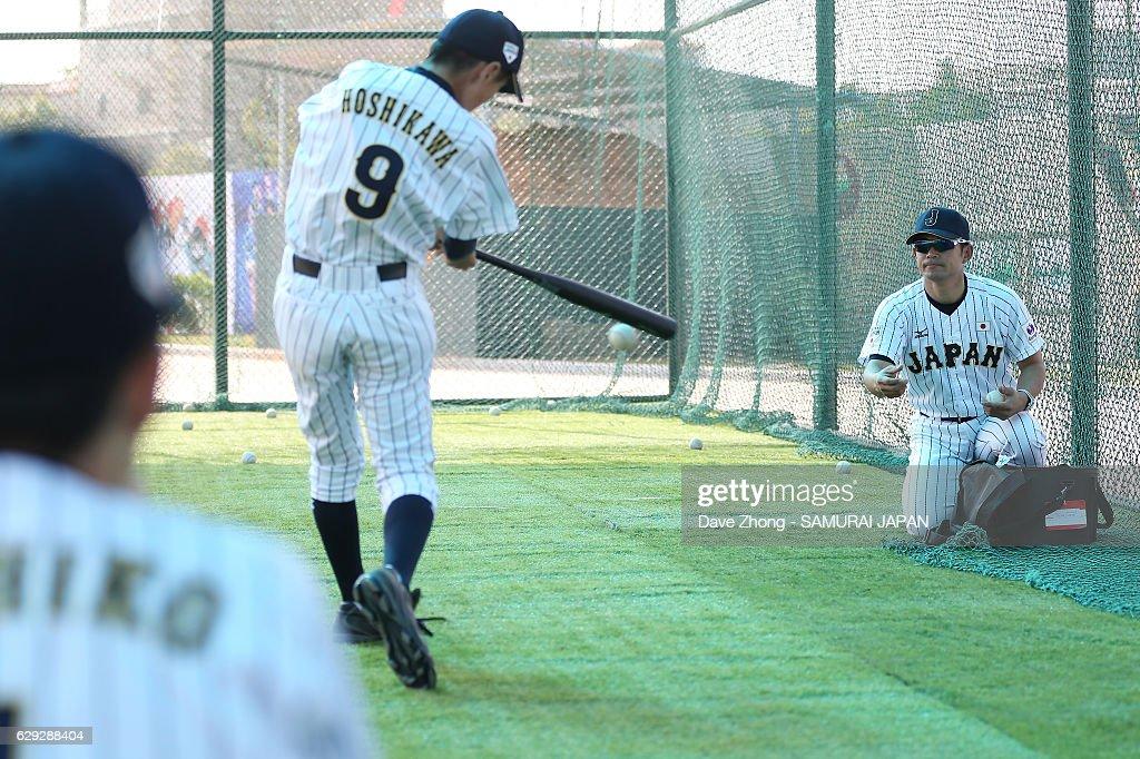 2016 lX BFA U12 Baseball Championship - Japan v China : News Photo
