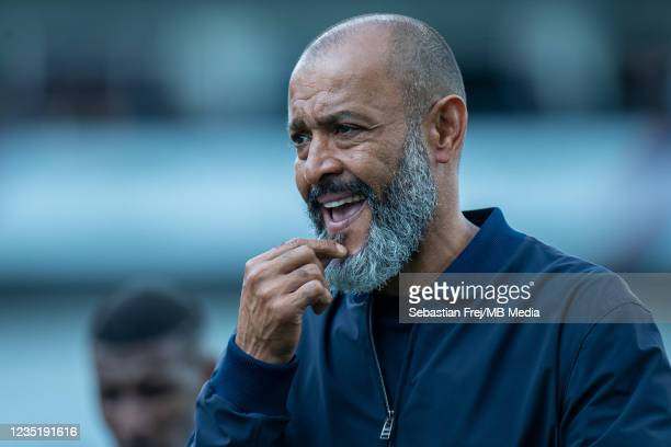 Manager Nuno Espírito Santo of Tottenham Hotspur during the Premier League match between Crystal Palace and Tottenham Hotspur at Selhurst Park on...