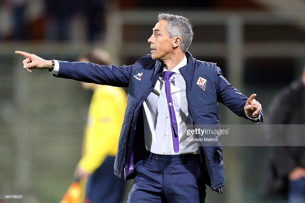 ACF Fiorentina v KKS Lech Poznan - UEFA Europa League : News Photo
