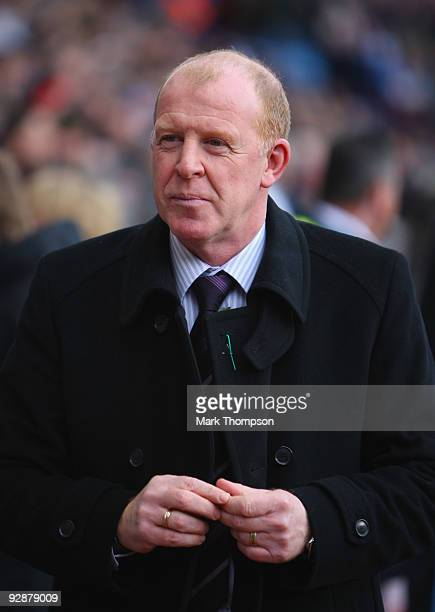 Manager of Bolton Wanderers Gary Megson during the Barclays Premier League match between Aston Villa and Bolton Wanderers at Villa Park on November 7...