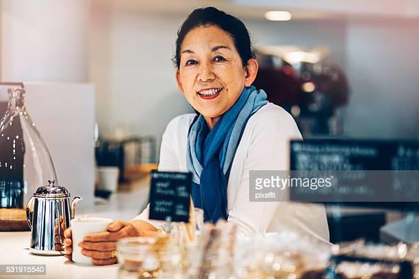マネージャーのコーヒーショップ