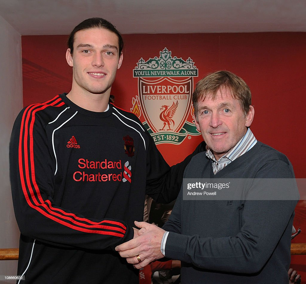 Andy Caroll Signs For Liverpool Football Club : News Photo