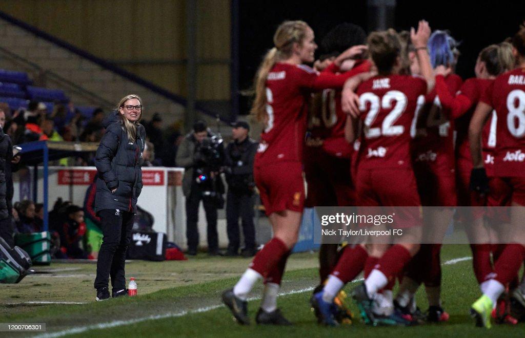 Liverpool v Arsenal - Barclays FA Women's Super League : Nachrichtenfoto