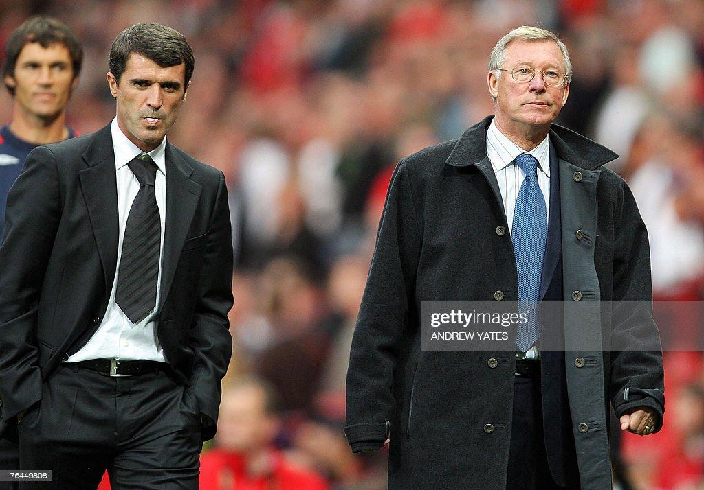 Manager of Manchester United Alex Fergus : News Photo