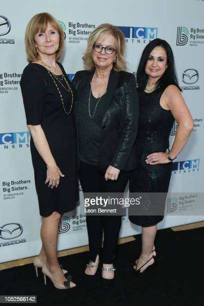 EVP Manager of Martha Henderson Laura Lizer and Marie Demirdjian attends Big Brothers Big Sisters Of Greater Los Angeles Big Bash Gala arrivals at...