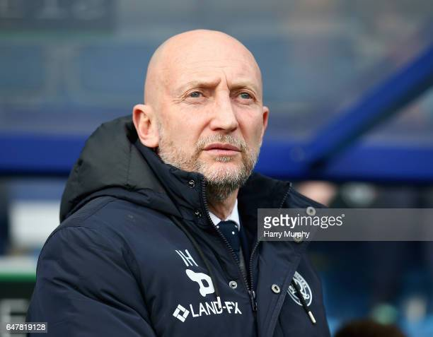 Manager of Queens Park Rangers Ian Holloway looks on prior to the Sky Bet Championship match between Queens Park Rangers and Cardiff City at Loftus...