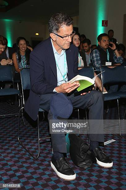 Manager of the Mexico national team Juan Carlos Osorio attends the Soccerex Americas Forum Mexico City Day 2 at Camino Real Polanco Hotel on May 12...