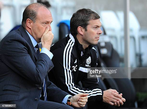 Manager of West Bromwich Albion Pepe Mel looks on during the Barclays Premier League match between Swansea City and West Bromwich Albion at Liberty...