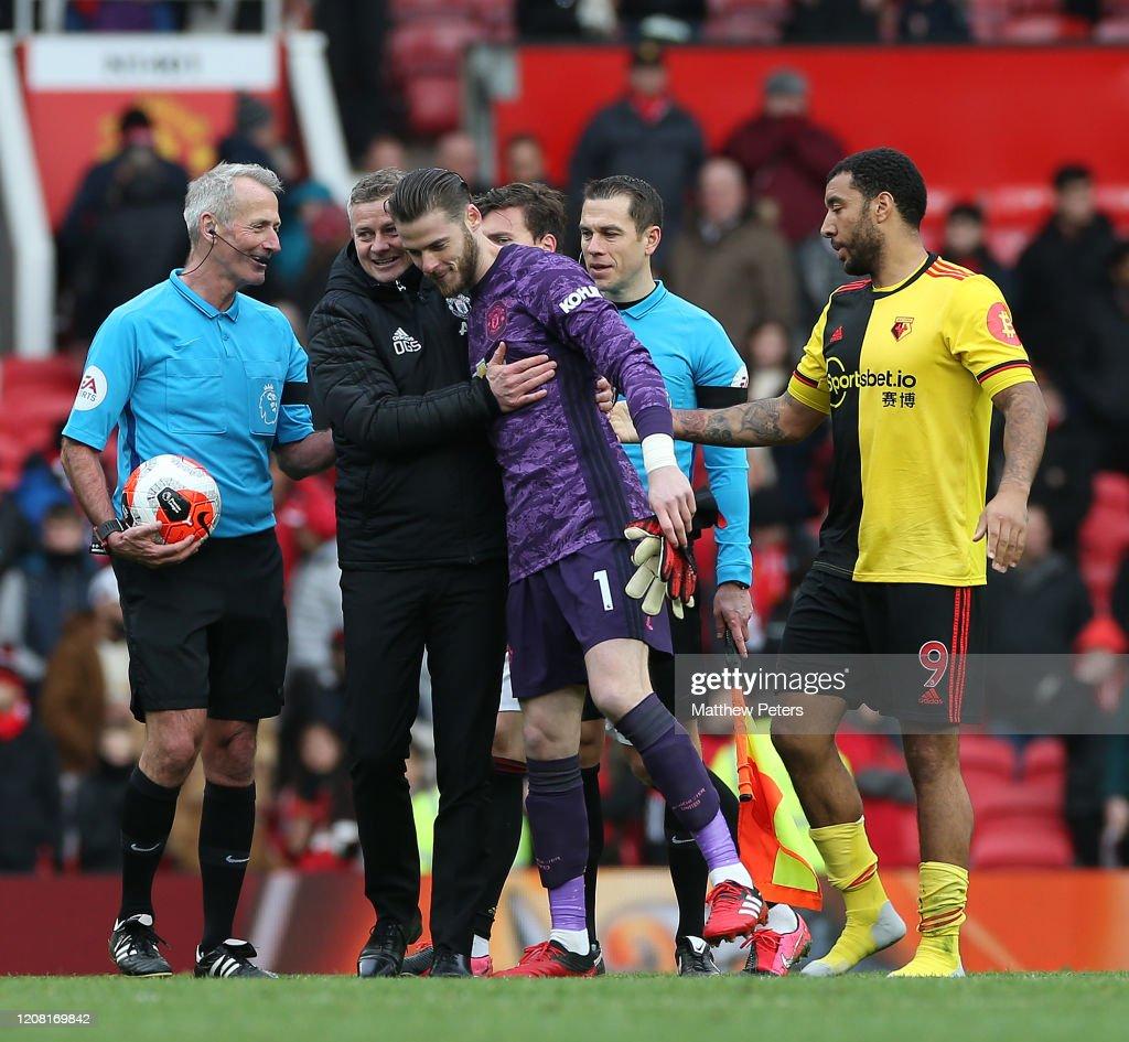 Manchester United v Watford FC - Premier League : ニュース写真