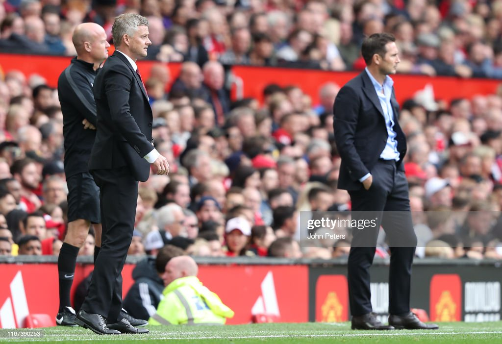 Manchester United v Chelsea FC - Premier League : Foto jornalística