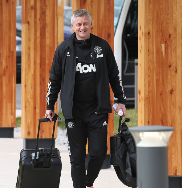 GBR: Manchester United Travel To Granada For UEFA Europa League Match