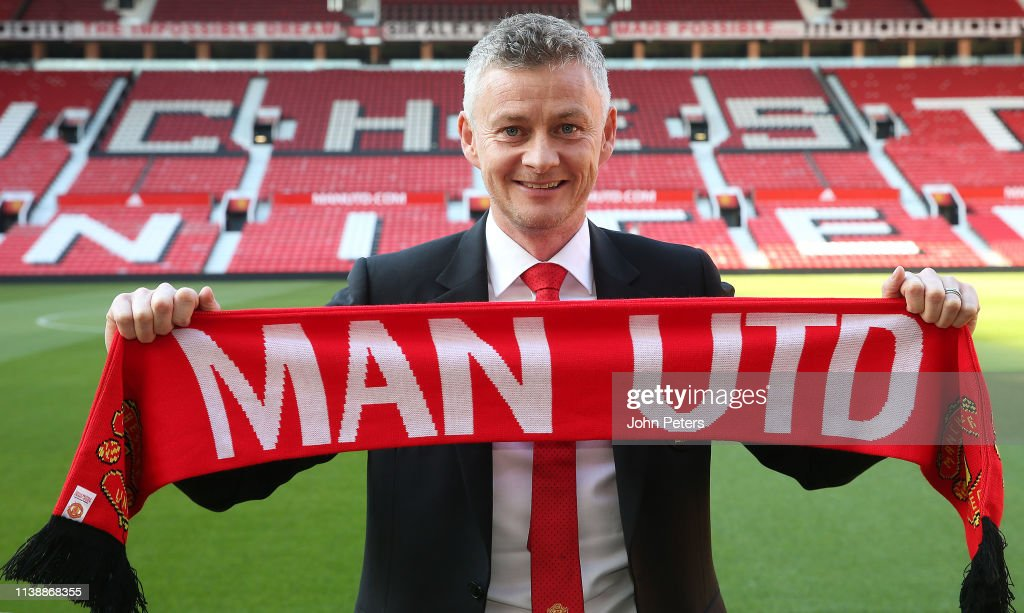 Manchester United Press Conference to Confirm Ole Gunnar Solskjaer as Full-Time Manager : News Photo