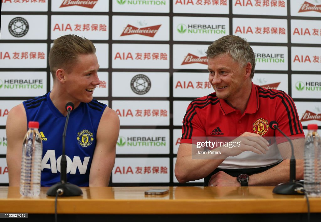 Manchester United Pre-Season Tour - Day 17 : News Photo