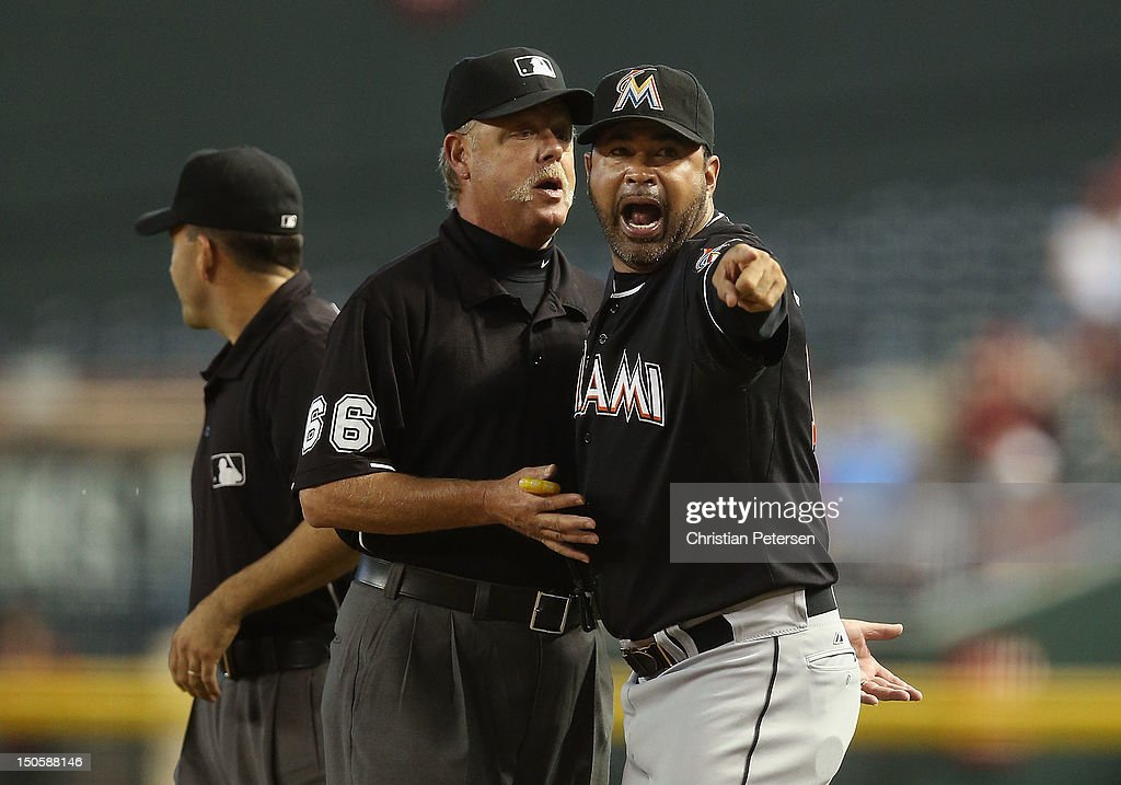 Miami Marlins v Arizona Diamondbacks - Game One