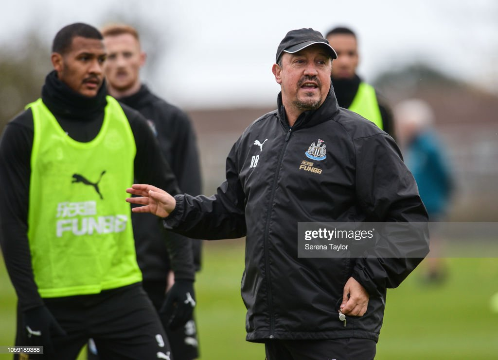 Newcastle United Training Session : News Photo