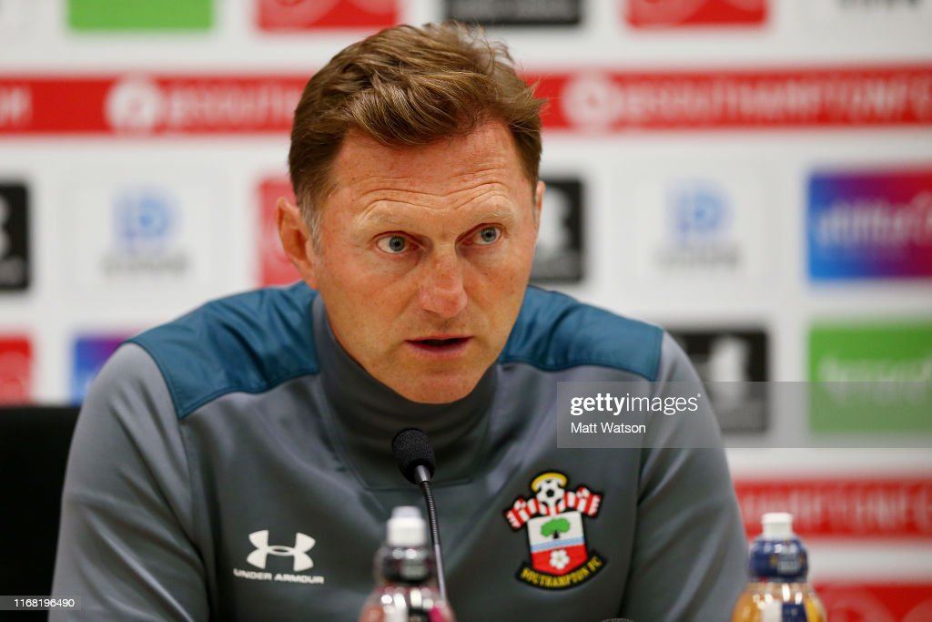 Southampton FC Training Session and Press Conference : News Photo